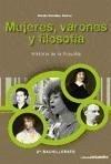 Historia de la filosofía, mujeres, varones y filosofía, 2 Bachillerato - González Suárez, Amalia