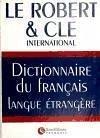 Dictionnaire du français langue etrangere