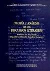 Teoría y análisis de los discursos literarios : Estudios en homenaje al profesor Ricardo Senabre Sempere