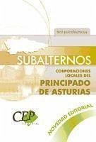 Subalternos, Corporaciones Locales del Principado de Asturias. Test psicotécnicos
