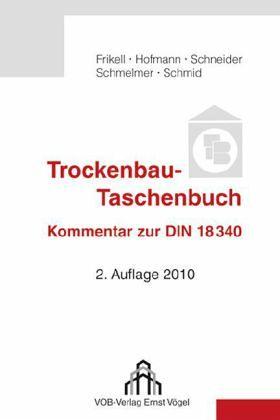 trockenbau taschenbuch fachbuch. Black Bedroom Furniture Sets. Home Design Ideas