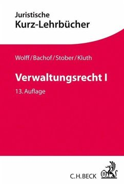 Verwaltungsrecht Bd. 1