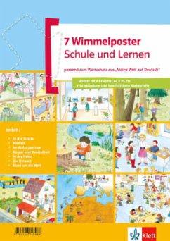 meine welt auf deutsch. 7 wimmelposter schule und lernen portofrei bei bücher.de bestellen