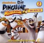 Die Pinguine aus Madagascar - King-Julien-Tag!, 1 Audio-CD