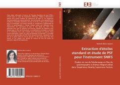 Extraction d'Étoiles Standard Et Étude de Psf Pour l'Instrument Snifs - Blanc-Joubert, Nathalie