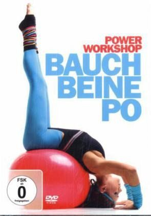 power workshop bauch beine po film auf dvd. Black Bedroom Furniture Sets. Home Design Ideas