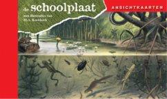 Ansichtkaarten, de Schoolplaat / In Ons Land / druk 1