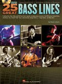 25 Great Bass Lines - for Bass Guitar, w. Audio-CD