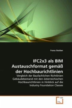 IFC2x3 als BIM Austauschformat gemäß der Hochbaurichtlinien