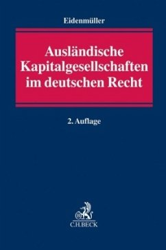 Ausländische Kapitalgesellschaften im deutschen...