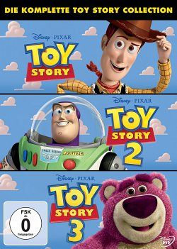 Toy Story 1-3, 3 DVDs