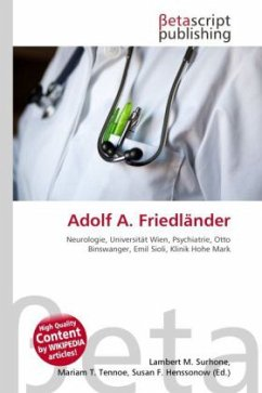Adolf A. Friedländer
