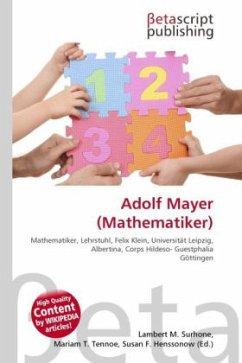 Adolf Mayer (Mathematiker)