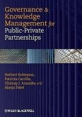 Governance & Knowledge Management for Public-Private Partnerships
