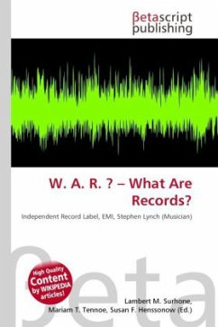W. A. R. ? What Are Records?