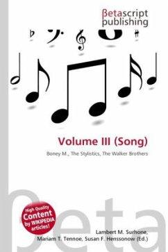 Volume III (Song)