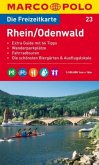 Die Freizeitkarte Rhein / Odenwald