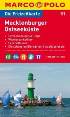 Die Freizeitkarte Mecklenburger Ostseeküste