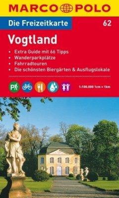 Die Freizeitkarte Vogtland
