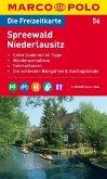 Die Freizeitkarte Spreewald, Niederlausitz