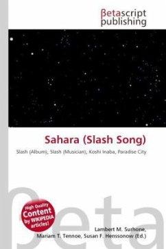 Sahara (Slash Song)