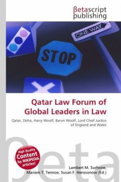 Qatar Law Forum of Global Leaders in Law