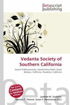 Vedanta Society of Southern California