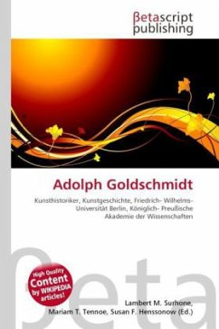 Adolph Goldschmidt