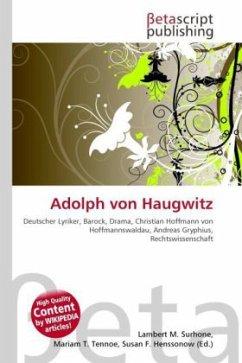 Adolph von Haugwitz