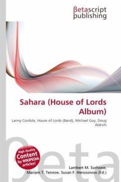 Sahara (House of Lords Album)