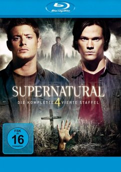Supernatural - Staffel 4 Bluray Box