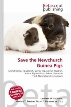 Save the Newchurch Guinea Pigs