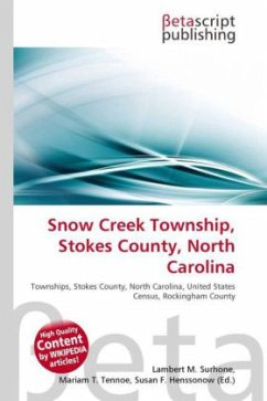 Snow Creek Township, Stokes County, North Carolina