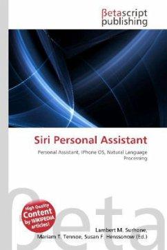 Siri Personal Assistant