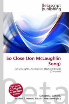 So Close (Jon McLaughlin Song)