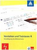 Mathe 2000. Verstehen und Trainieren. Schülerarbeitsheft 4. Schuljahr