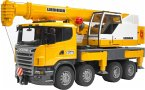 Bruder 3570 - Scania Liebherr: Kran Lkw mit Licht & Sound