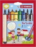 STABILO Trio Scribbi 8er Kunststoffetui