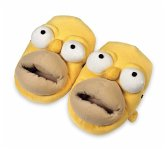 United Labels 0803868 - Slipper The Simpsons 3D - Hausschuhe Homer Simpson, Größe M
