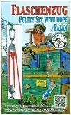 Corvus A750130 - Kids at work: Seilzug, Flaschenzug mit Seil und 2 Karabiner
