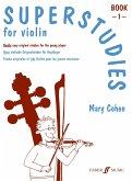 Superstudies, solo violin