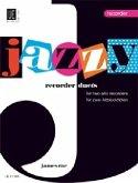 Jazzy Recorder Duets, für 2 Altblockflöten