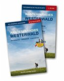 Wanderparadies Westerwald Start-Set. Pocketführer, Karte 1 : 25 000. Druidensteig, Klosterweg, Wiedweg