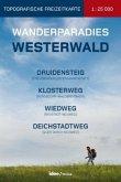 Wanderparadies Westerwald, Topografische Freizeitkarte