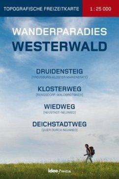 Wanderparadies Westerwald, Topografische Freize...