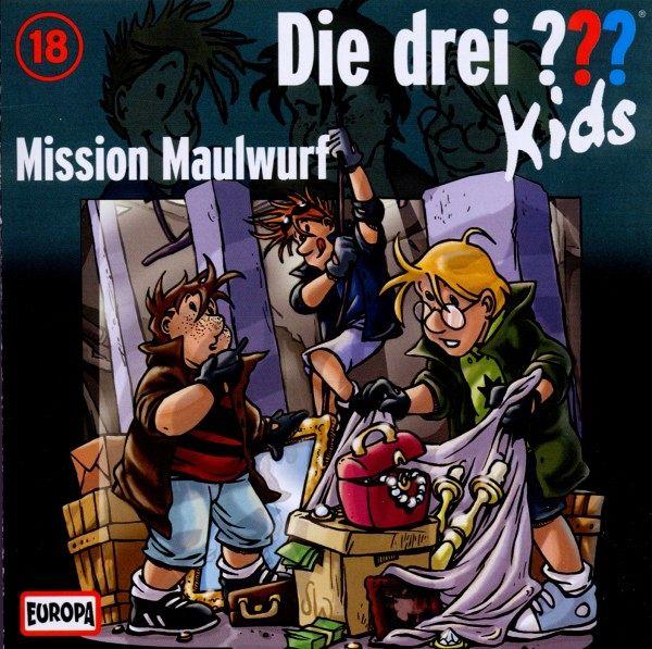 mission maulwurf die drei fragezeichen kids cd von die drei kids auf audio cd. Black Bedroom Furniture Sets. Home Design Ideas