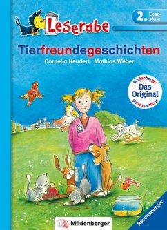 Leserabe mit Mildenberger. Leichter lesen lernen mit der Silbenmethode: Tierfreundegeschichten