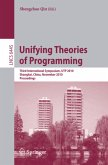 Unifying Theories of Programming