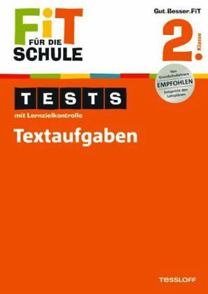 Fit für die Schule: Tests mit Lernzielkontrolle. Textaufgaben 2. Klasse - Zenker, Werner