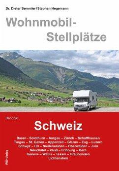 Wohnmobil-Stellplätze 26. Schweiz